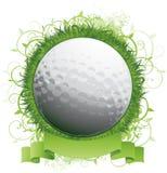 背景球设计高尔夫球 库存图片