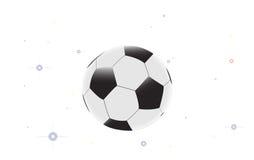 背景球足球明星白色 免版税图库摄影
