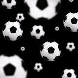 背景球足球 免版税库存照片