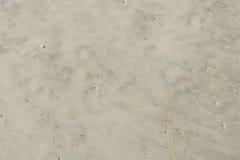 背景理想的沙子纹理 免版税图库摄影