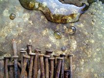 背景生锈的水 免版税图库摄影