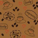 背景用咖啡 图库摄影