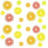 背景用柑橘水果 免版税库存图片