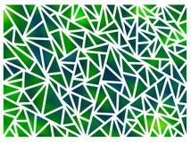 背景由三角做成在白色背景 库存照片