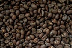 背景由咖啡豆制成 免版税库存照片