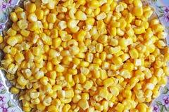 背景由玉米制成 食物 免版税库存照片