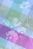 背景由蓝色织品制成 免版税库存照片