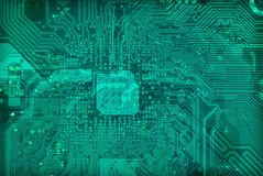 背景电子行业技术纹理 免版税库存照片