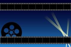 背景电影 向量例证