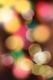背景电灯泡圣诞节defocused图象光 图库摄影