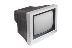 背景电视白色 免版税库存照片