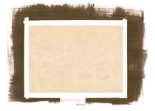 背景画笔纸张冲程 库存例证