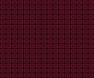 背景白色纹理的摘要,红色,黑,蓝色颜色马赛克图表几何 库存照片