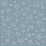 背景的不对称的花卉样式 免版税库存照片