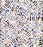 背景的五颜六色的抽象无缝的水彩 库存例证