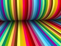 背景的五颜六色的抽象线 库存照片