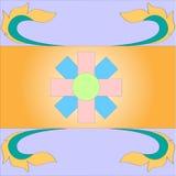 背景的五颜六色的样式 免版税库存照片
