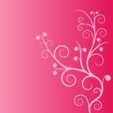 桃红色planl装饰品 库存图片