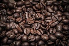 背景的咖啡豆纹理 选择聚焦 定调子 库存照片