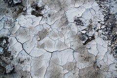 背景的干燥和破裂的地球纹理 库存图片