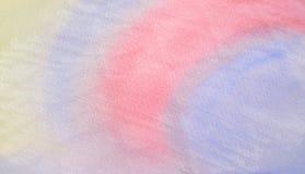 背景的抽象五颜六色的水彩 库存图片