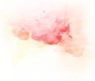 背景的抽象五颜六色的水彩 皇族释放例证