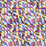 背景的抽象几何五颜六色的样式 免版税库存照片