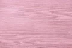 背景的桃红色木板条纹理 免版税图库摄影