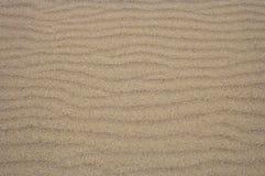 背景的沙子波纹 免版税库存照片