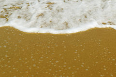 背景的海滩 图库摄影