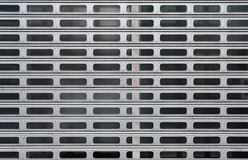背景的灰色金属车库门,擦亮剂 库存图片