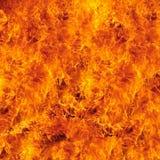 背景的灼烧的火火焰 库存图片