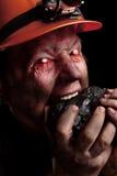 煤矿工人 免版税库存照片