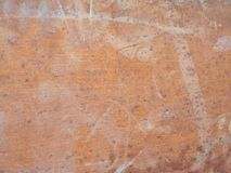 背景的生锈的金属管纹理 免版税图库摄影