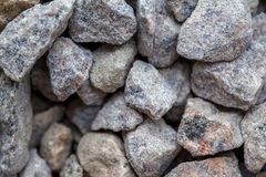 背景的石渣 免版税库存图片