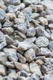 背景的石渣 免版税图库摄影