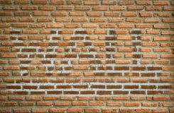 背景的砖墙纹理 免版税库存照片