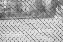 背景的篱芭滤网 库存图片