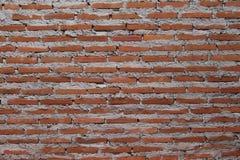 背景的红色块墙壁 免版税库存照片