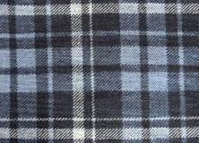背景的羊毛织品被检查的纹理 免版税库存图片