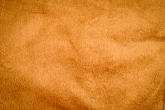 背景的老棕色织品纹理 库存图片