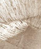 背景的自然亚麻制纹理 免版税库存照片
