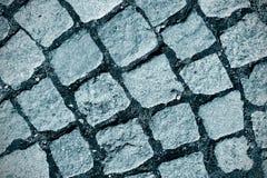 背景的花岗岩路面horisontal照片 免版税库存图片