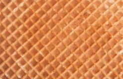 背景的薄酥饼纹理 免版税库存照片