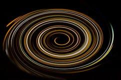 背景的螺旋类型光的 图库摄影
