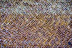 背景的被编织的藤条样式 库存图片