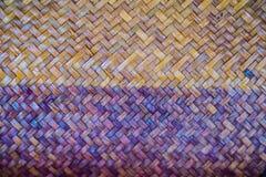 背景的被编织的藤条样式 免版税图库摄影