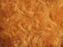 背景的豪华棕色金羊毛纹理 免版税库存照片