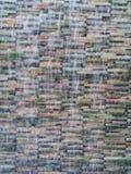 背景的迷离小瀑布模型 免版税图库摄影