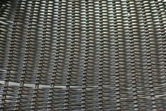 背景的金属椅子表面 免版税库存照片